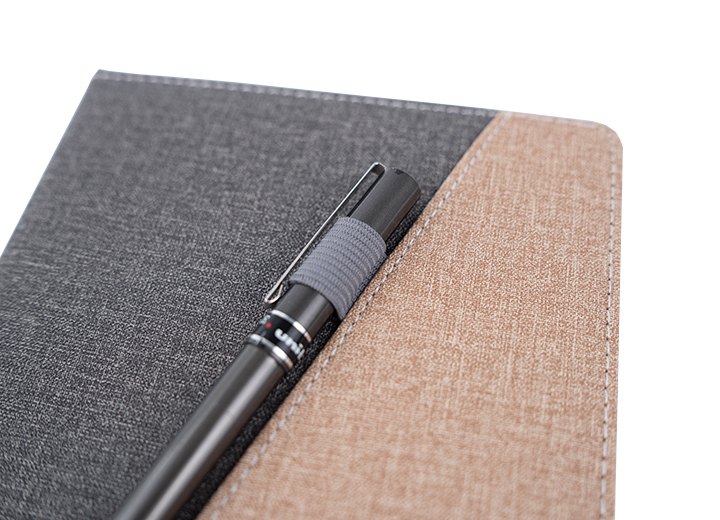 Journal With Pen Holder