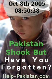 Pakistan Quake One Year Ago