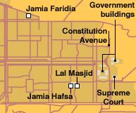 Lal Masjid Map