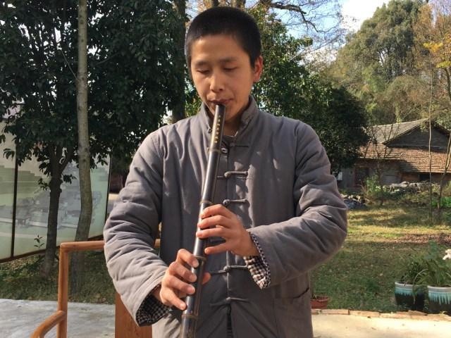 Flöte im Yaoshan