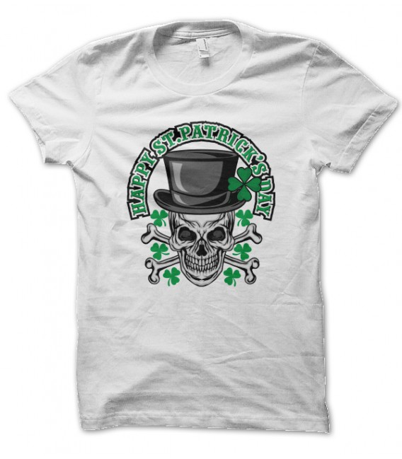 Tee Shirt Happy St Patrick Day | Teez, Tee shirt humour et ...