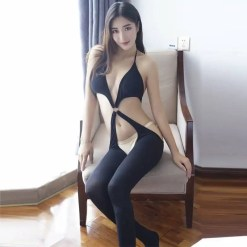 Erotic Open Crotch Style Pantyhose
