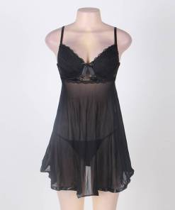Plus Size Babydoll Sleepwear Hot