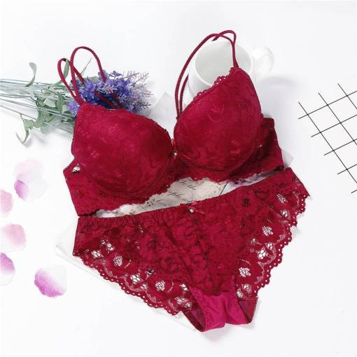 Bra and Panty Sexy Lingerie Set