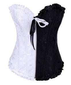 plus size full corset overbust sexy lace