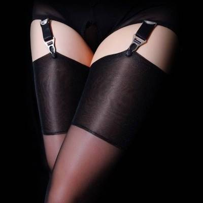 Thigh Highs That Go All The Way Up Over The Knee
