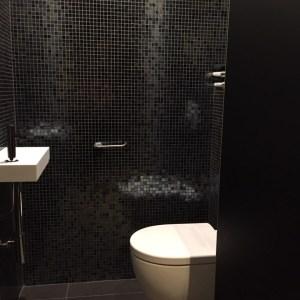Tegelwerken Benoey mozaïek Tegels Toilet