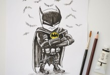 Batman mini karikatur