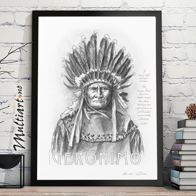 Geronimo poster plakat