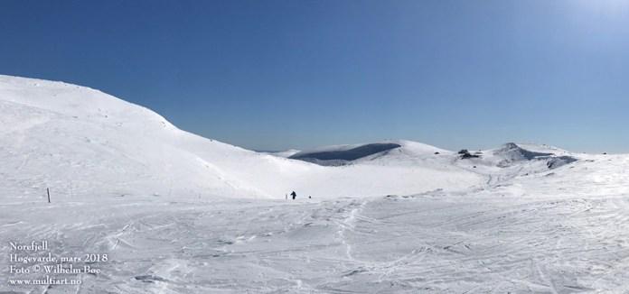 Høgevarde på Norefjell, mars 2018