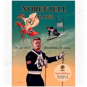 Stein Eriksen, Norefjell-OL 1952