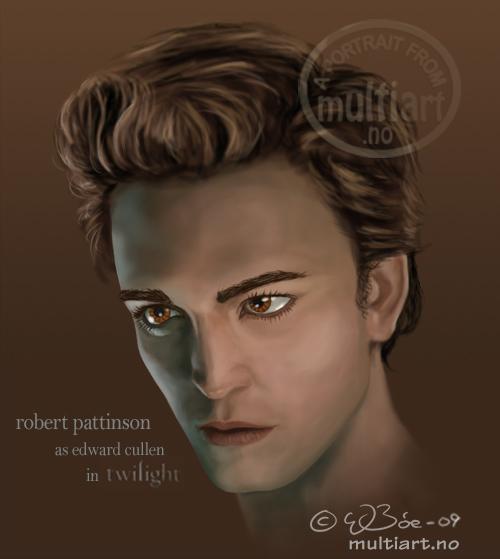 Robert Pattinson portrait