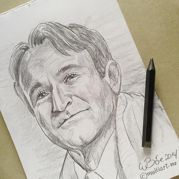 Robin Williams drawing
