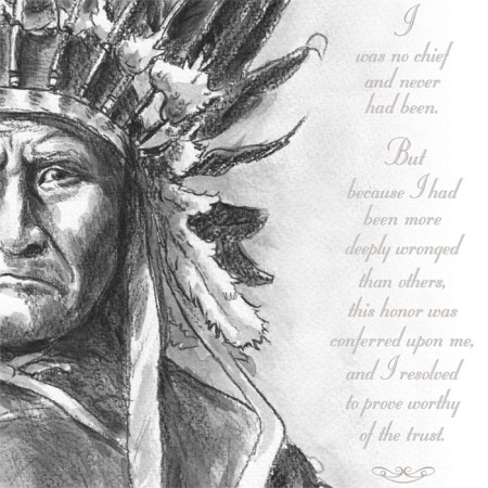 Geronimo poster quote