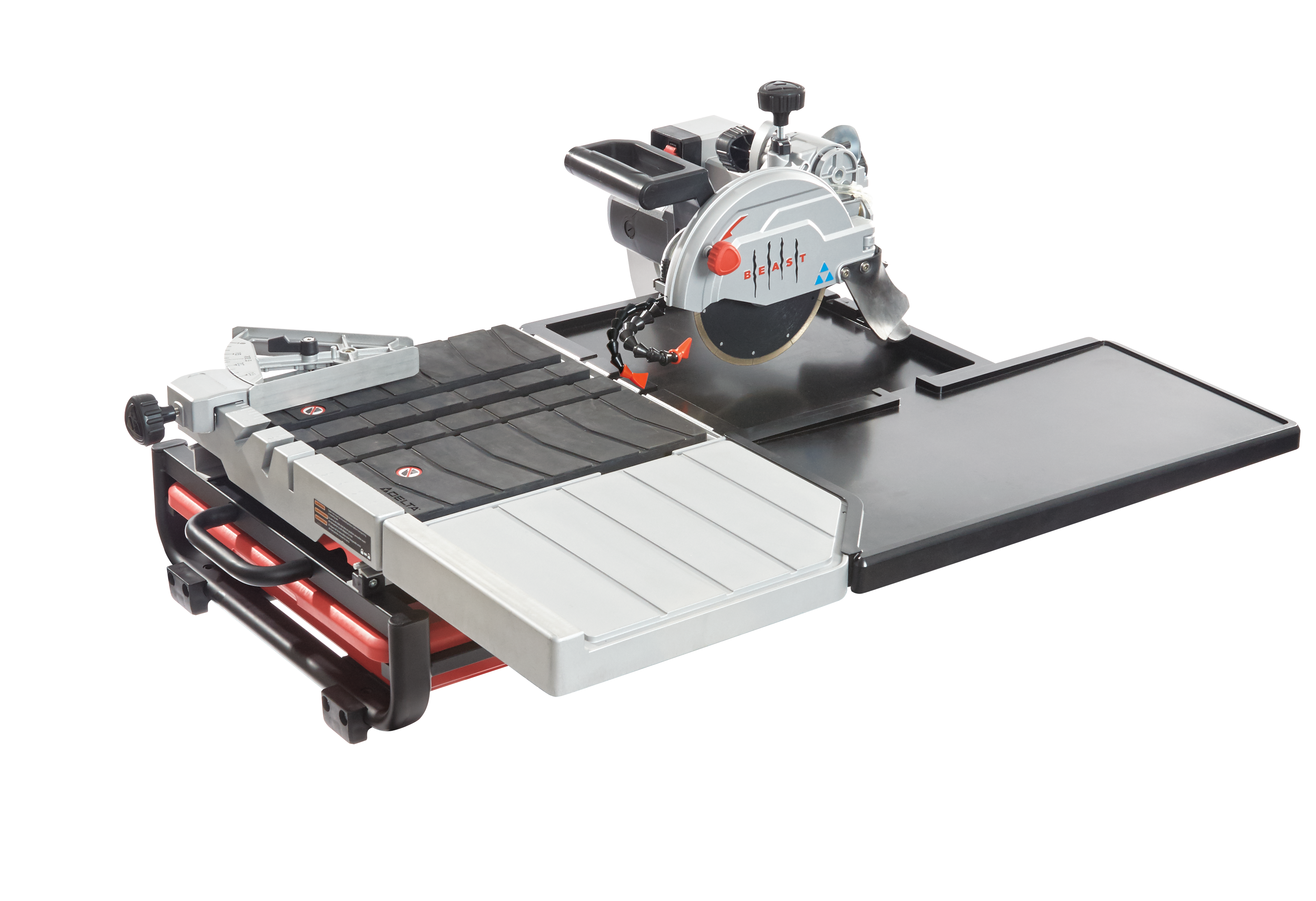 lackmond beast7ckit 7 in wet tile saw with scissor stand