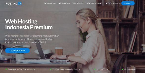 ID.Hosting24.com Web Hosting Unlimited Indonesia