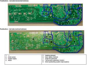 ZanussiElectrolux washing machine wiring diagram service manual error code circuit schematic