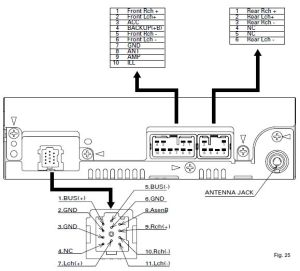 DAIHATSU Car Radio Stereo Audio Wiring Diagram Autoradio