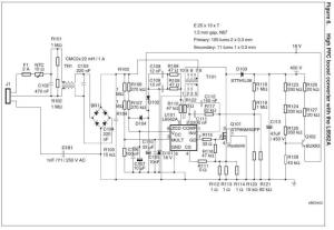 Dimmer LED circuit diagram 80W power supply