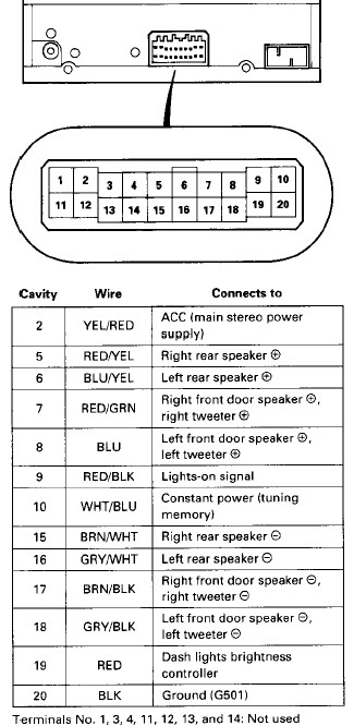 1996 toyota corolla radio wiring diagram the wiring 1994 toyota pickup stereo wiring diagram wire