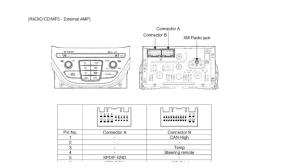 HYUNDAI Car Radio Stereo Audio Wiring Diagram Autoradio