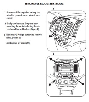 HYUNDAI Car Radio Stereo Audio Wiring Diagram Autoradio