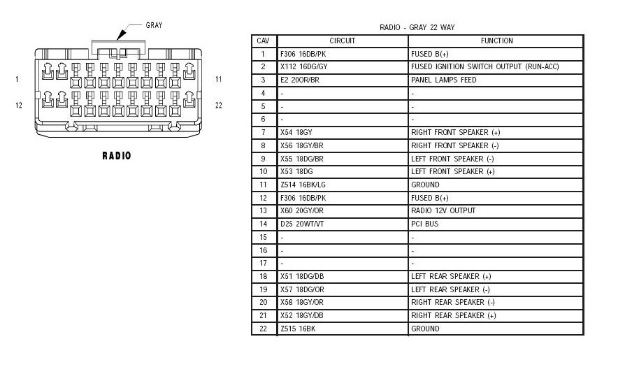 2006 Jeep Liberty Stereo Wiring - query Radio Wiring Diagram For Jeep Wrangler on