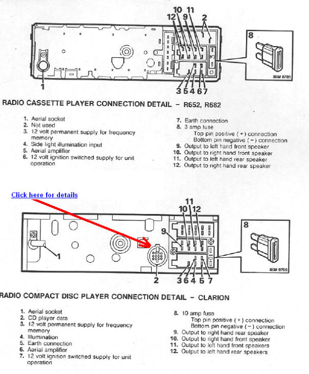 Land Rover 800 car radio wiring diagram connector pinout clarion xmd1 wiring diagram clarion free wiring diagrams clarion cz201 wiring diagram at reclaimingppi.co