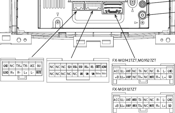 Lexus P3930 Pioneer FX MG9437ZT car stereo wiring diagram connector pinout?resize=600%2C387 wiring diagram for pioneer deh 150mp wirdig readingrat net Pioneer Car Stereo Wiring Diagram at bayanpartner.co