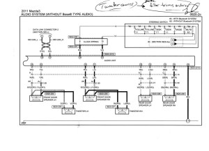 MAZDA Car Radio Stereo Audio Wiring Diagram Autoradio