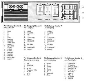 MERCEDES Car Radio Stereo Audio Wiring Diagram Autoradio