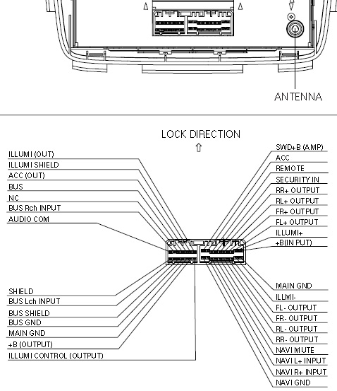 PIONEER 3TF0 (FX MG6006ZH BOSE changer ACURA) pioneer deh p680mp wiring diagram pioneer head unit wiring diagram pioneer premier wiring diagram at crackthecode.co