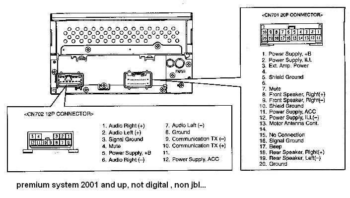 Toyota Radio Wiring Diagram on 1992 mitsubishi 3000gt wiring diagram