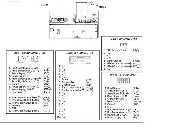 Fujitsu Ten Wiring Diagram Mitsubishi : Eclipse avn wiring harness updates