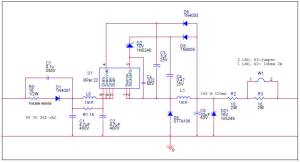 White LED driver constant current non isolated