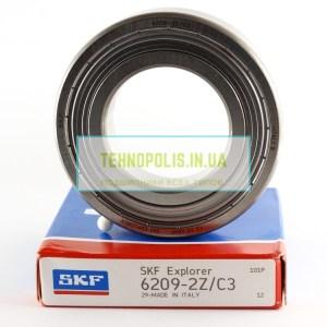 ціна на підшипник 6209 2Z C3 (80209) SKF