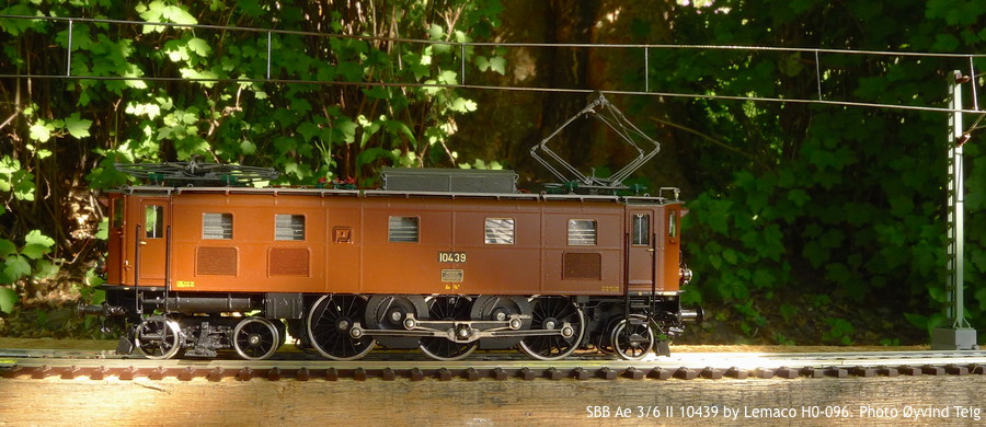 087 fig7 SBB Ae 3/6 II HO-096 by Lemaco. Photo Øyvind Teig