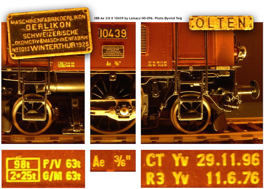 087 fig9 SBB Ae 3/6 II HO-096 by Lemaco. Photo Øyvind Teig
