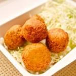 ファラフェル 中東のひよこ豆を使った揚げ物料理