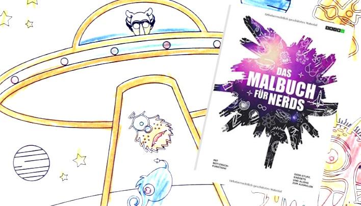 Rezension: Das Malbuch für Nerds