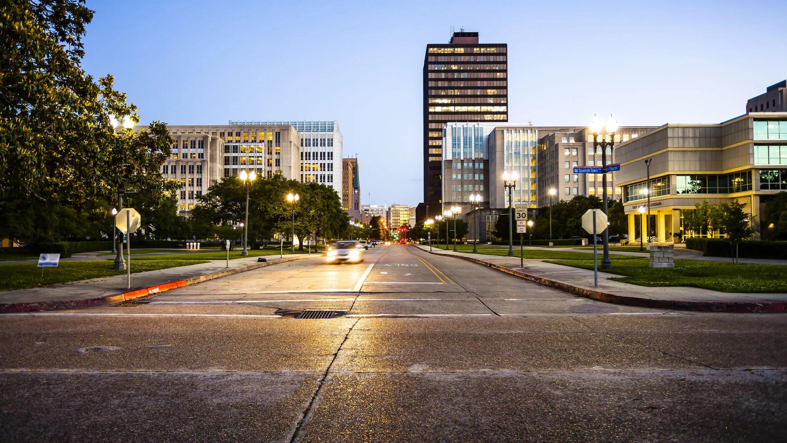 Baton Rouge, LA street