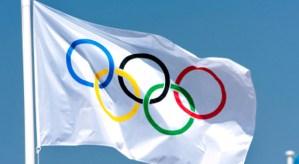 Drapeau Olympic Londres 2012