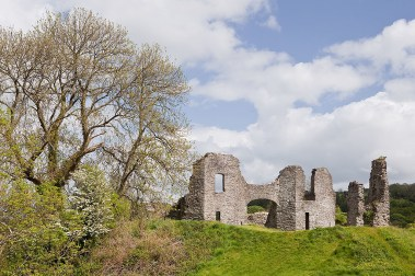 Castle ruins at Newcastle Emlyn