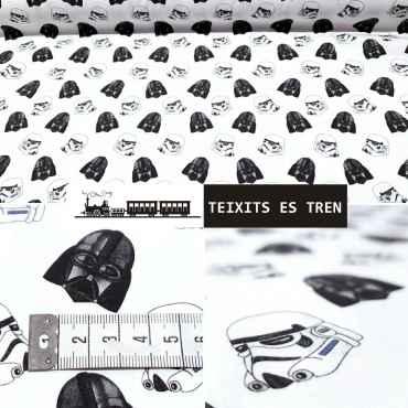 Star Wars Algodón 100% ref. 1088 star-wars