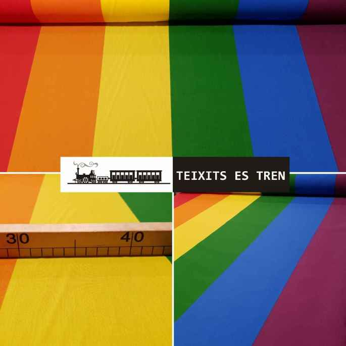 Bandera Arcoiris Gai Gay ref. 002