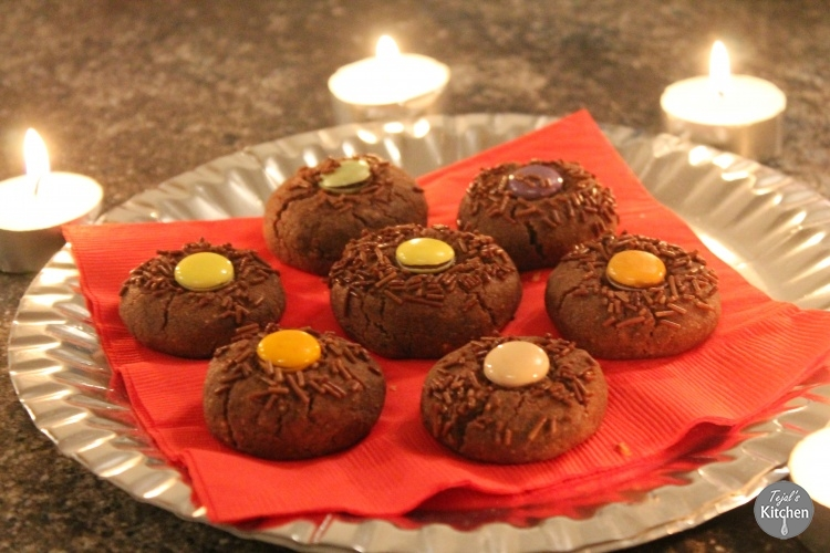 Chocolate Kaju Nan Khatai