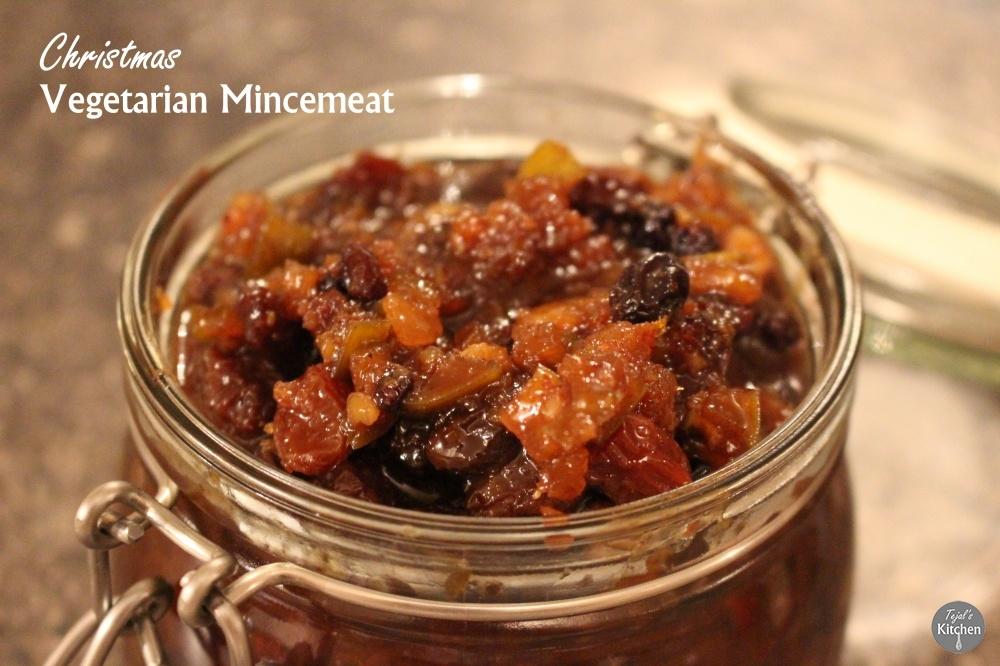 Christmas Vegetarian Mincemeat