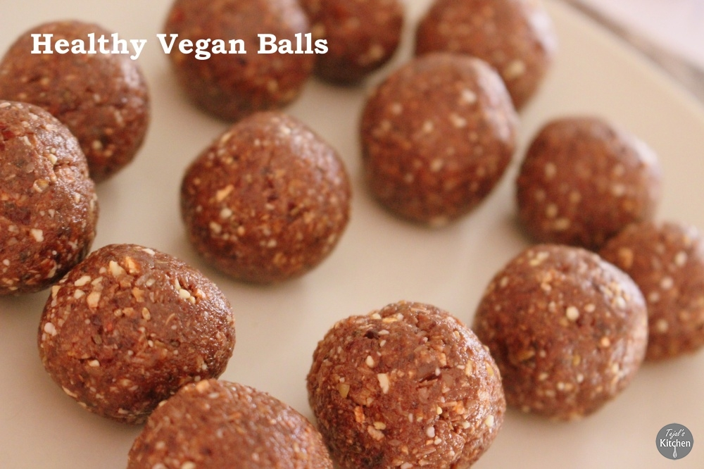 Healthy Vegan Balls
