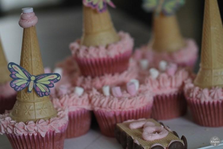 Princess Castle Tear Share Cakes