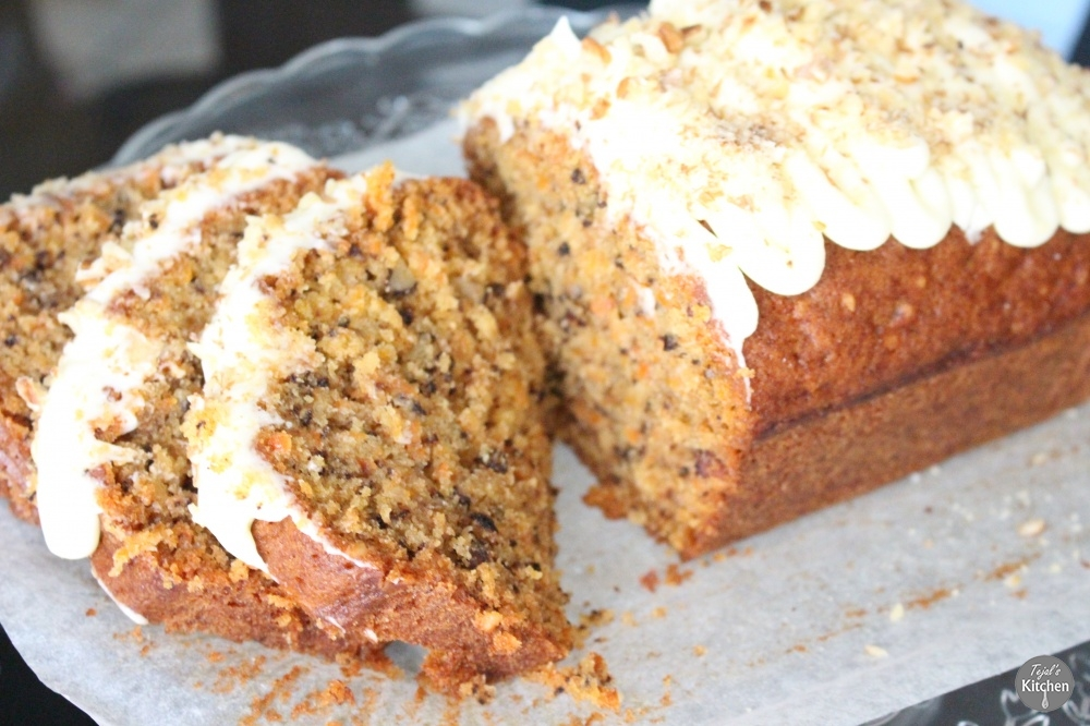 Carrot Walnut Loaf